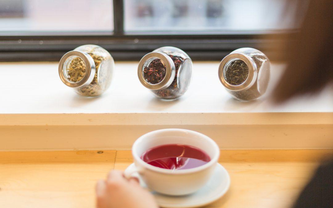 Hibiscus tea in Winter