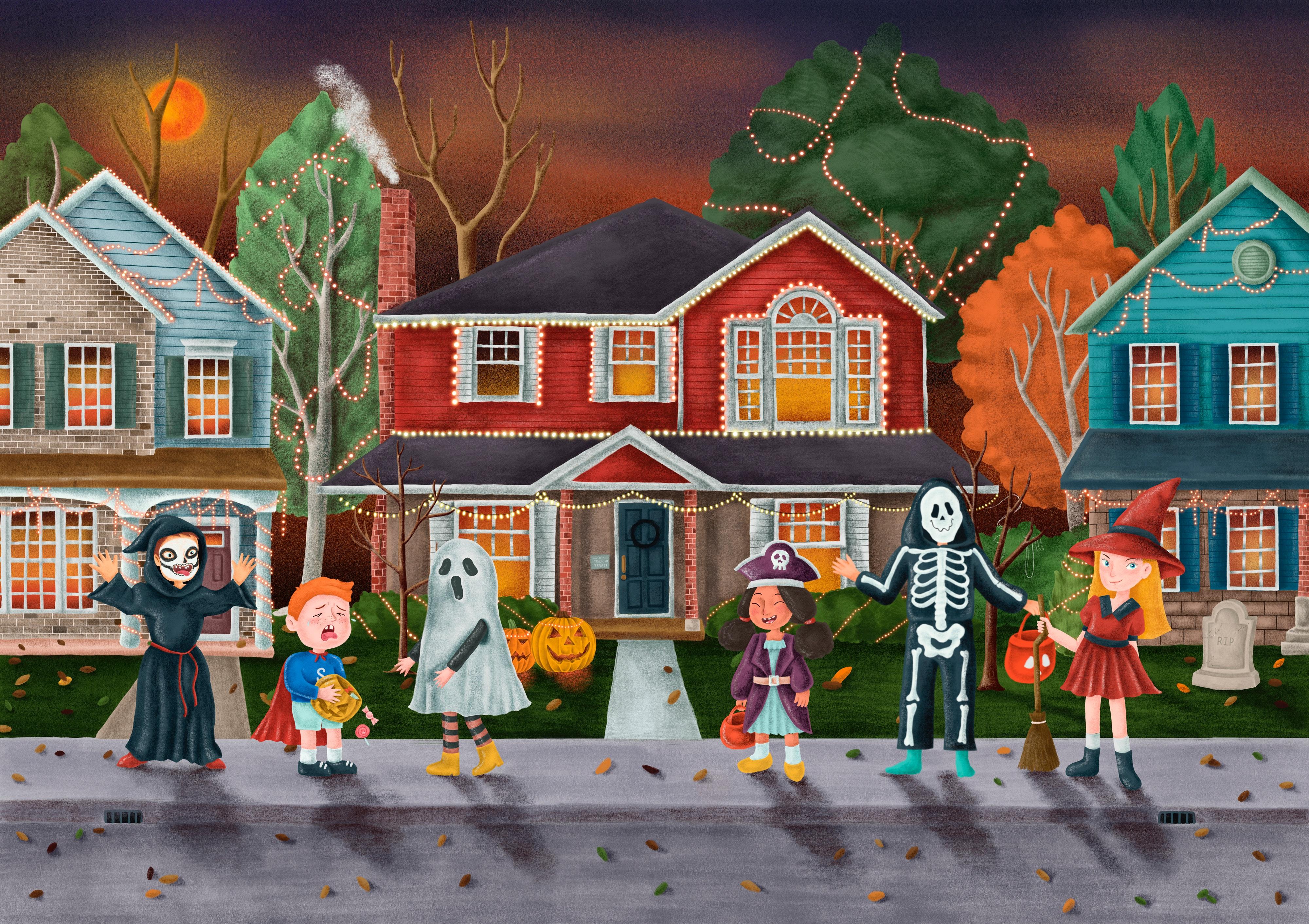Halloween and sugar. NO!!!