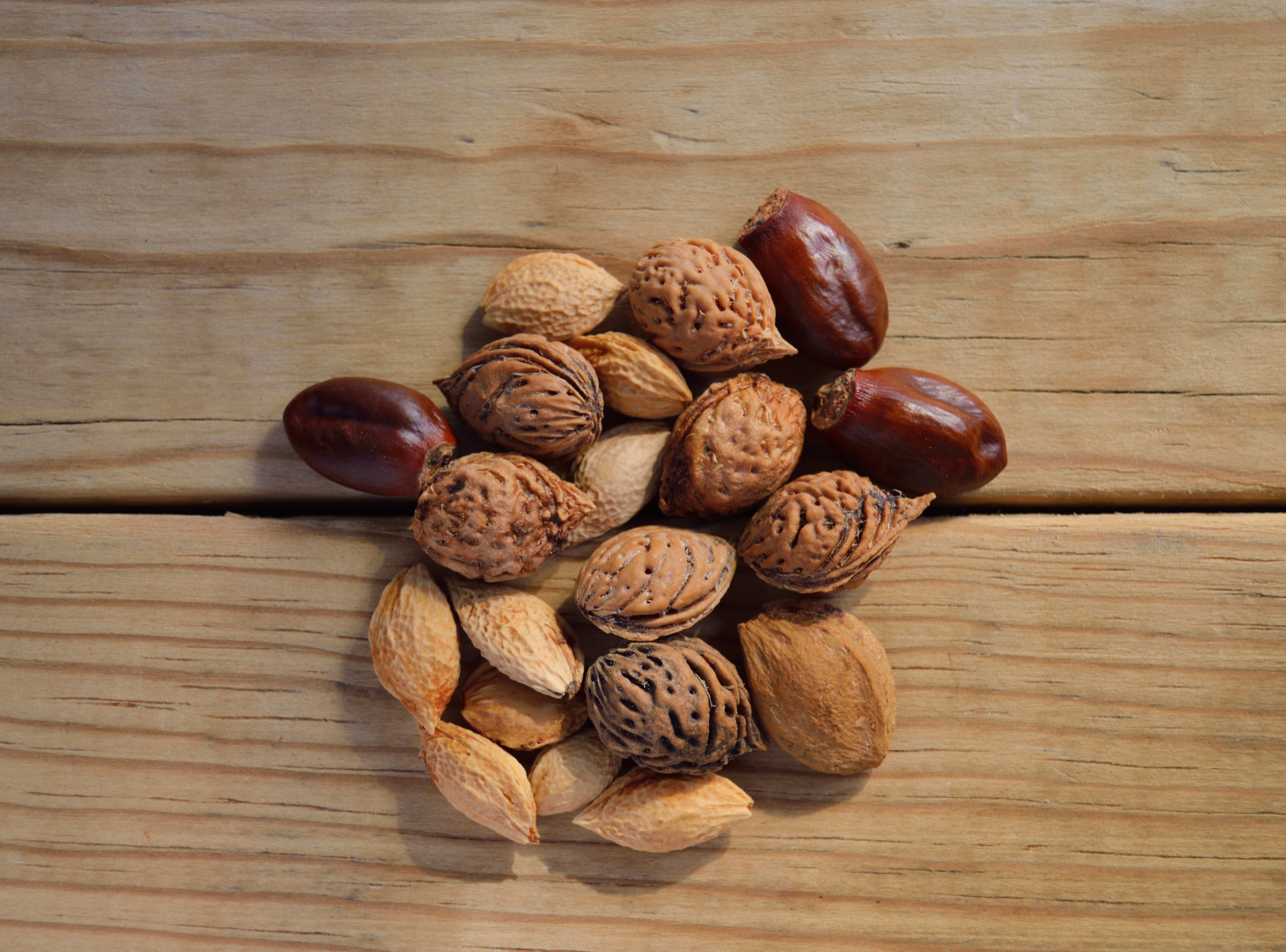 Looking for easy protein? Think nuts.